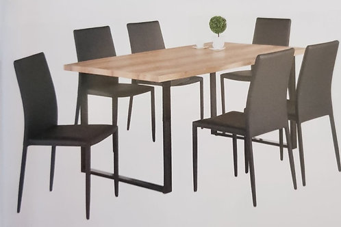 Felix Dining Table and 6 Chairs