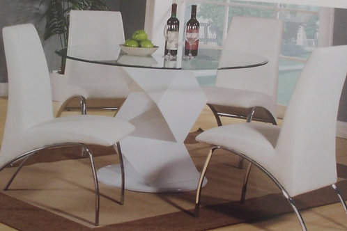 Rowley Dining Table and 4 Chairs