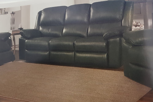 Toledo Recliner Leather and PVC Sofa