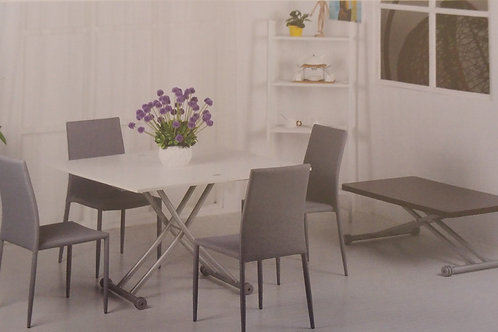 Lydia Folding Dining Table and 4 Chairs