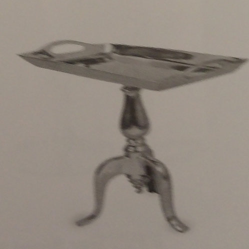 Polished Aluminium Table