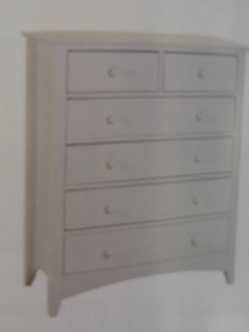 Chelsea 4 + 2 Drawer Chest of Drawers