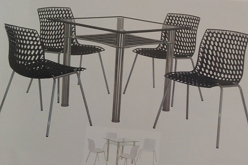 Delford Dining Table and 4 Chairs