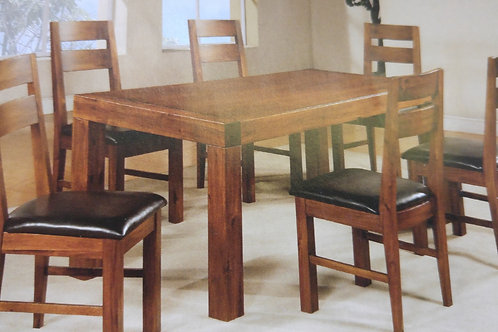 Monaco Dining Table and 6 Chairs