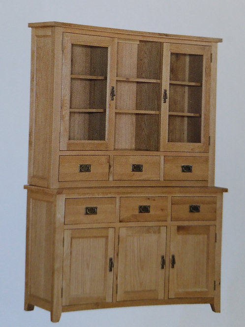 Stirling Buffet and Hutch 3 Doors 3 Drawers