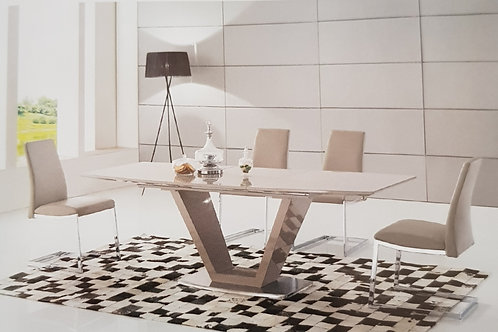Azore Extending Dining Table and 6 Chairs