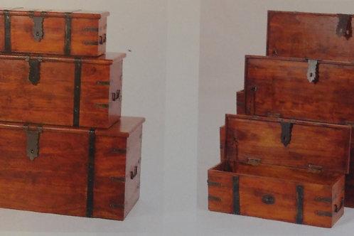 Jaipur Deco Trunk Set