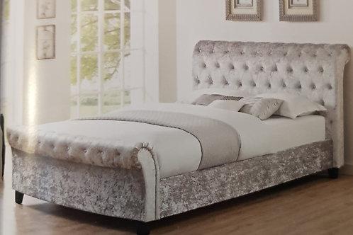 Casablanca Crushed Velvet Bed