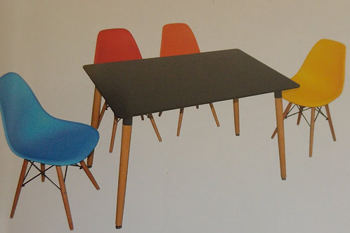Lilley Rectangular Table and 4 Chairs