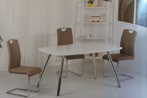 Vera Dining Table and 4 Chairs