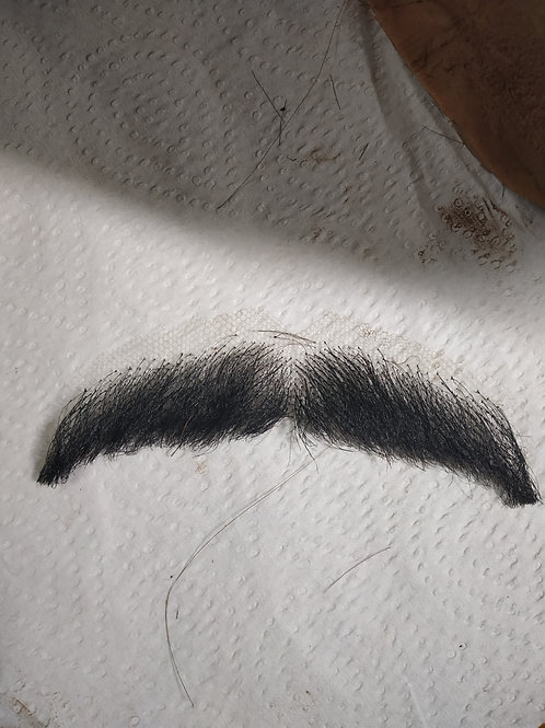 Fake Moustache & Eyebrows