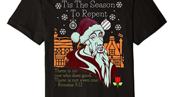 00032: Stylish Tis The Season - Repent Premium T-Shirt