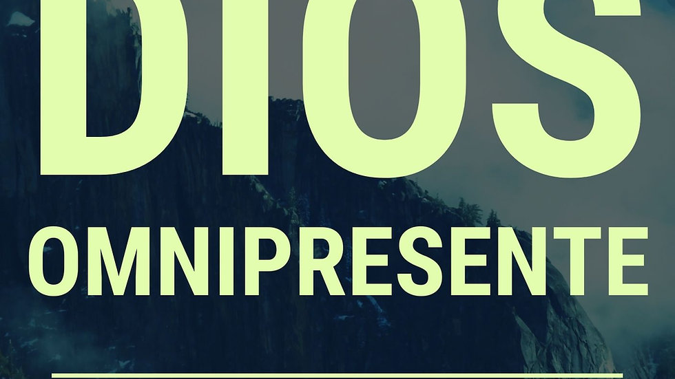 LIBRO: Dios Omnipresente (Jonathan Roiz)