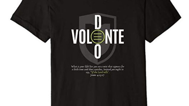 00023: Stylish Deo Volente (If the Lord Wills) T-Shirt