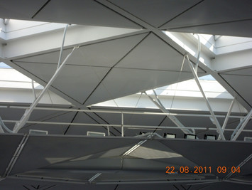 HK Airport Terminal 1 - LED Floodlight Mock up