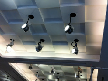 Ominus LED light installation at Fung Ming Hall