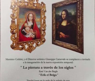 "La pintura a través de los siglos Rene Van den Berghe ""Erik el Belga"""