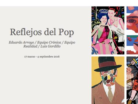 Reflejos del Pop en Museo Carmen Thyssen