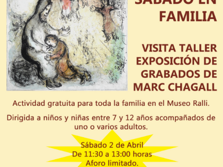 Sábado en Familia en el museo Ralli