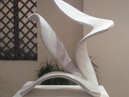 """Exposición """"Entre forma y figura"""" de Patrick Fossey en el Hospital Real de la Misericordia"""