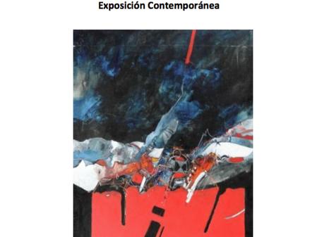 Invitación a la exposición contemporánea, 22 de Abril- 11 de Mayo
