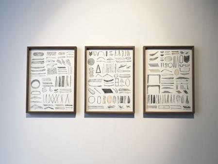 Luis Úrculo en la galeria Max Estrella