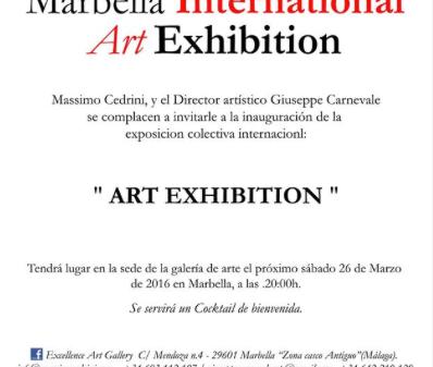 ART EXHIBITION en Marbella