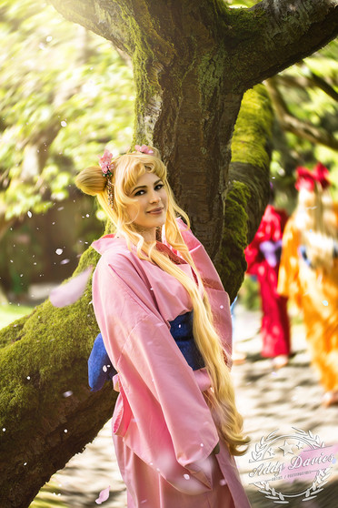 Cosplayer:  Character: Usagi / Sailormoon Ukata by Forever Dreaming Cosplay  Camera: Nikon D610 Lens: Nikkor 80-200mm f2.8D  Focal: 200mm  Aperature: f2.8 ISO: 200 SS: 1/400s  Main Light: Strobepro AD200 Power: 1/32 Mod: 46cm Octobox / Double Diffused with Honey Comb Grid