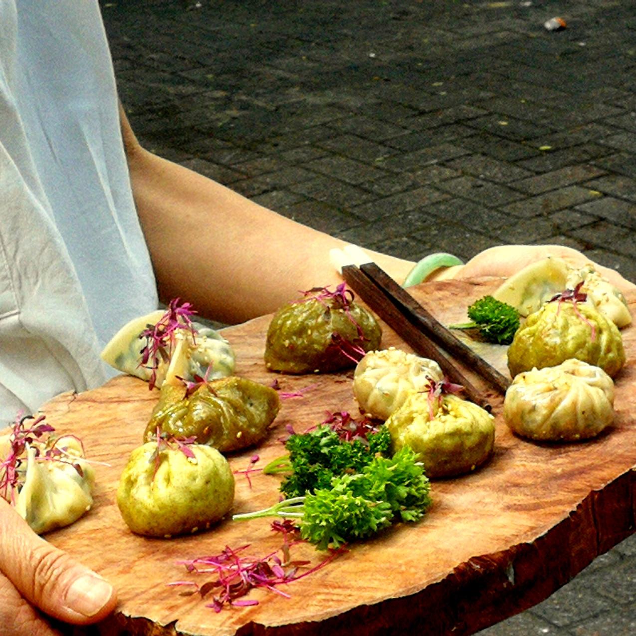 Dumpling - Fall menu Elysia catering