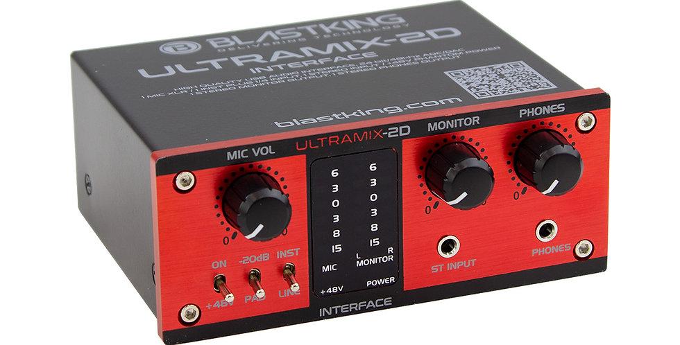 Interfce de audio Blastking de 2 canales