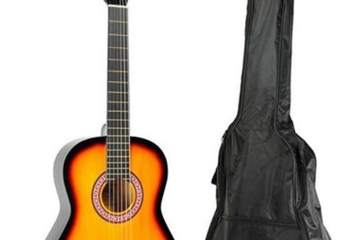 "Guitarra Clásica Alaguez  Sunburst 39"""