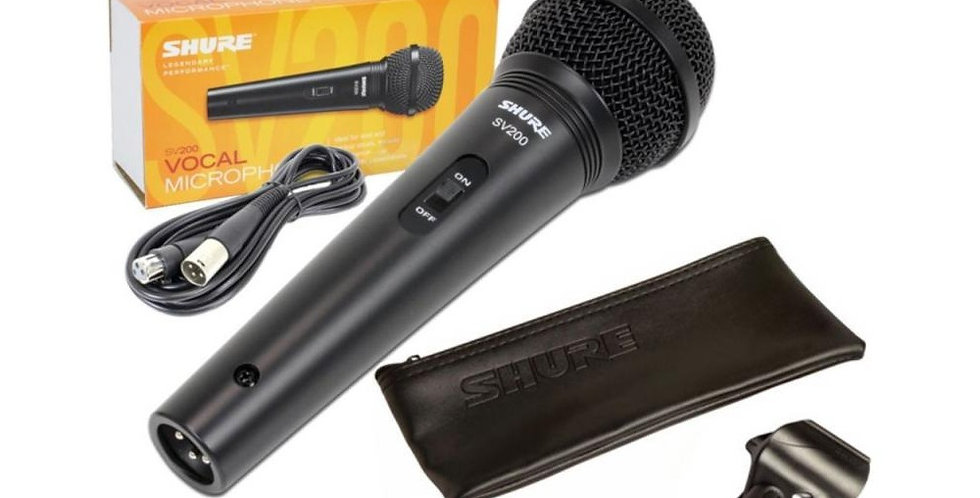 MICROFONO VOCAL SV200 SHURE