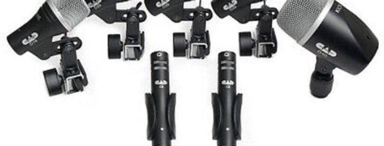 Set de 7 Micrófonos para Batería