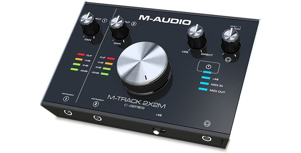INTERFAZ USB MTRACK 2X2M M-AUDIO