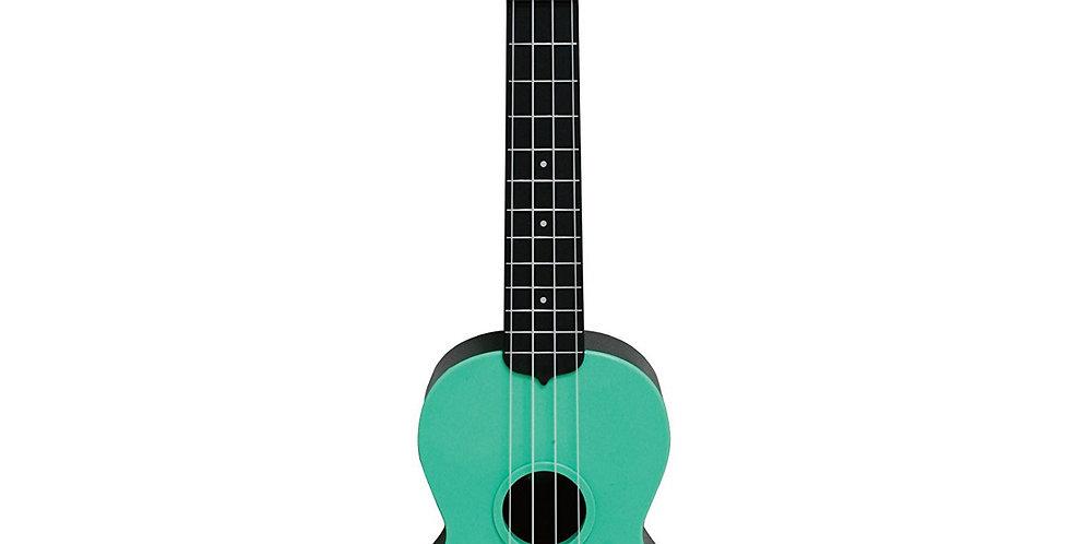Ukelele Soprano Kala Waterman Verde
