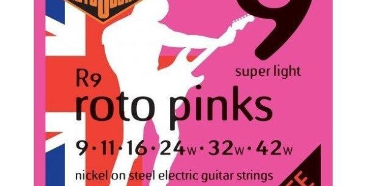 Cuerdas  RotoSound para guitarra eléctrica 9-42