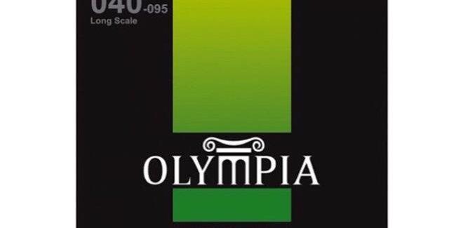 Set de Cuerdas para Bajo Acústico OLYMPIA