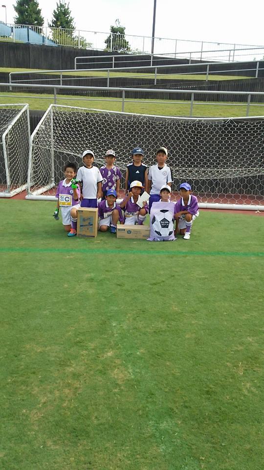 U-9グリーチネ全国PK選手権inFujieda準優勝
