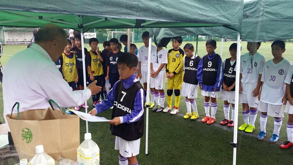 U-12セネガルカップ準優勝