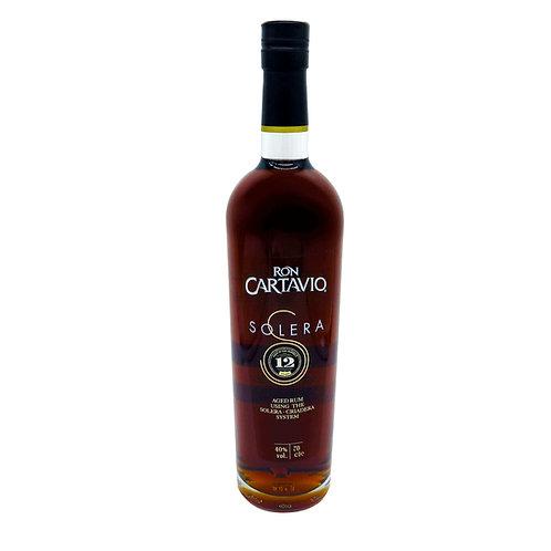Ron Cartavio - Cartavio Solera 12 - 40% - 700ml, Vorderansicht, erhältlich bei VINOS LATINOS