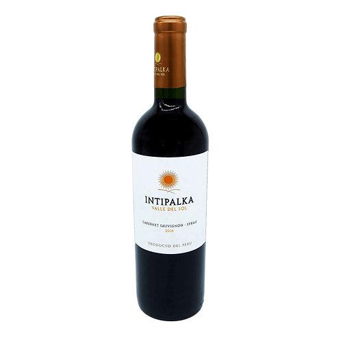 INTIPALKA Cabernet Sauvignon-Syrah - 13,5% - 750ml - 2016, Vorderansicht, erhältlich bei VINOS LATINOS
