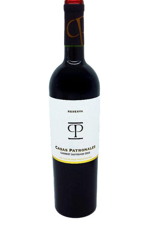 Casas Patronales - Cabernet Sauvignon - 14% - 750 ml - 2013, Vorderansicht, erhältlich bei VINOS LATINOS