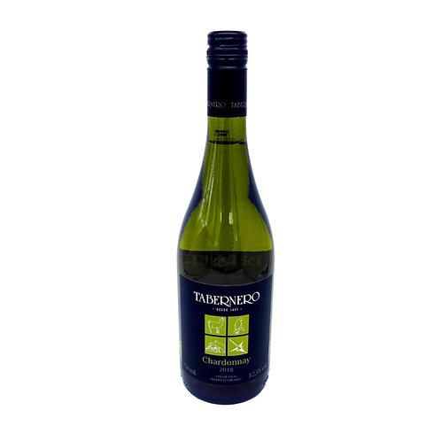 TABERNERO Chardonnay - 12,5% - 750ml - 2018, Vorderansicht, erhältlich bei VINOS LATINOS