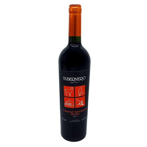 TABERNERO Cabernet Sauvignon - Merlot - 13,5% - 750ml - 2017, Vorderansicht, erhältlich bei VINOS LATINOS