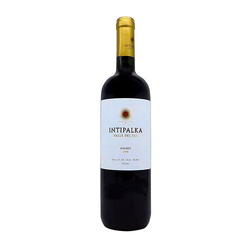 INTIPALKA - Malbec - 13,5% - 2019 - 750ml, Vorderansicht, erhältlich bei VINOS LATINOS