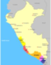 Weinregionen in Peru - Wine and vine res