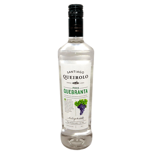 Santiago Queirolo - Pisco - Quebranta - 42,5% Alc. - 700 ml
