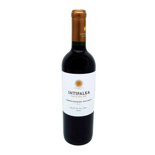INTIPALKA Cabernet Sauvignon-Petit Verdot - 12,5% - 750ml - 2018, Vorderansicht, erhältlich bei VINOS LATINOS