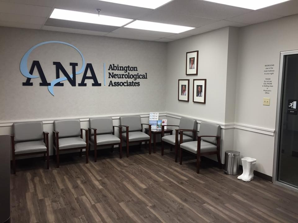 Abington Neurological Associates reception room renovation.   Willow Grove, PA