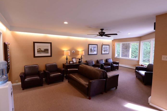 Orthopedic Care (now Rothman) waiting room renovations.  Abington, PA